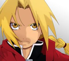 Edward Elric by thehooliganist
