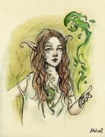 Earth Elf by MeliFalco