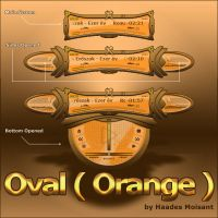Oval -Orange by haadesm