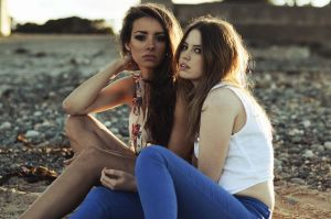 Suzanna and Lizzie by jackalexanderUK