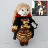 Fire Emblem Awakening Female Tactician Plushie by MadameWario