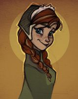 Anna - Princess of Arrendelle by nataliebeth
