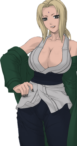 Topic images - Page 4 Tsunade_by_Azuzu