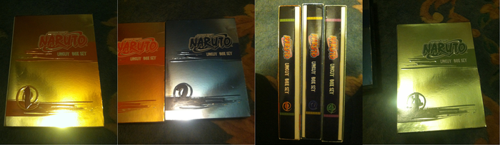 Naruto Boxsets For Sale by Teal-Tortoise