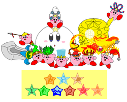 Kirby's abilities 3 by DarkDiddyKong
