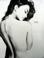 Penelope Cruz 2 graphite by Ethan-Carl