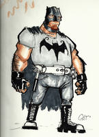 SK Sat- Batman: Imposters by GilTriana
