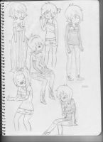 OC for Adventure time, Joann. by Marysmelody