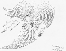Suzaku Request by Griffinscry
