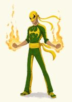 Iron Fist by Fernandolopezleonart