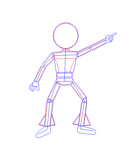 How to Draw a Disco Dancer by Gamekirby