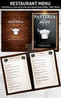 Restaurant Menu PSD Template by Hotpindesigns