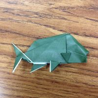 Origami Carp by Origami1105