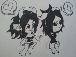 Request FanTrolls Nu and Lu by SeaGoatInk