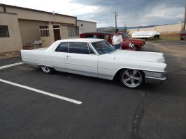 1965 Cadillac Coupe deVille (Mild Custom) by TheHunteroftheUndead