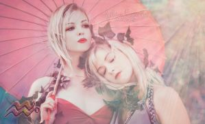 Sensual Sisters of the Sensitive Flora by Missprecioussuicide
