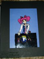 Chibi Usa Cell Painting 2001 by lilly-peacecraft