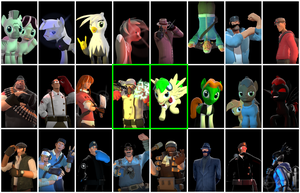 gmod - Character wall profile by Stormbadger
