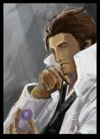 Old Aizen by bustercloud