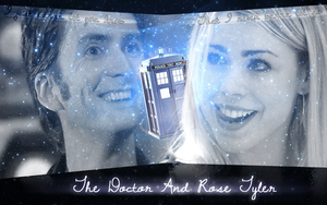 Rose Tyler And The Tenth Doctor by Dianakit12