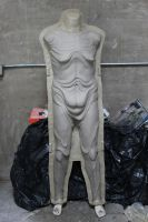 Pale Man Body Sculpt front by CarnevaleObscura