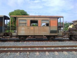 old train carriage by joelshine-stock