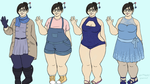 Mei outfits by KMoonleaf