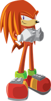 Knuckles Vector by BlumanX