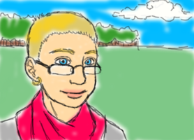 Worst self-portrait ever by Uskall