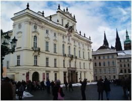 The Archbishop's Palace in Prague by SeiMissTake