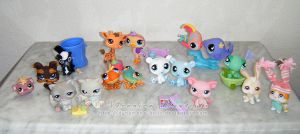 Littlest Pet Shop Family by Dynamene-Dolls
