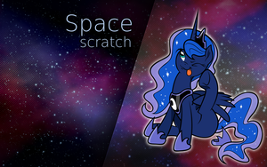 Space scratch by Barnacle84