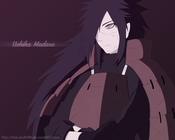Uchiha Madara by NarutoAN98