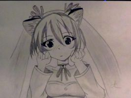 hatsune miku drawing dessin by miichaelis