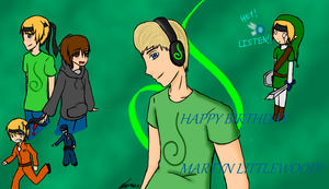 Happy Birthday Martyn by ToonPrincessZeldaFan