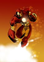 Iron man by mrmustafa