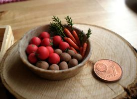 Carrots Tomatoes Potatoes by vesssper