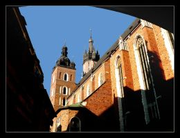 St. Mary's Basillica In Cracow by skarzynscy