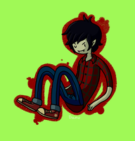 Marshall Lee by CyanDrizzle