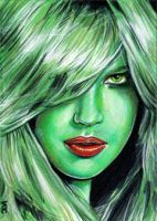 She-Hulk Sketch Card 6 by veripwolf