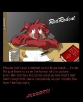 RedRodent II by GothWolf-Lucifur