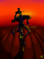 Scarecrow Man by Arsenious