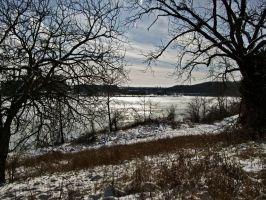 Winter Lake VII by Baq-Stock