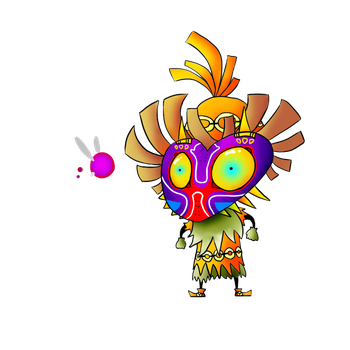 Skull Kid and Tael by Marios-Tri4ce