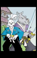 USAGI YOJIMBO and GEN by Chadfuller
