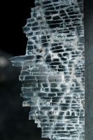 Broken Glass Macro by DawnAllynnStock