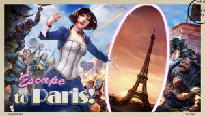 Elizabeth - Escape to Paris by AcerSense