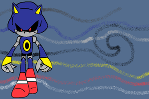 Serious Metal Sonic by Sonicluvr5