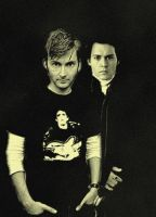 tennant and depp by jakey01