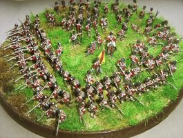 British Highlanders Infantry Square, 19th Century by ThePaleGuy